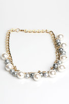 Kuo Ting Jewelry Japanese White and Gray Pearl Necklace : Kuo Ting Jewelry Women