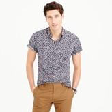 J.Crew Short-sleeve shirt in floral print