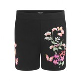 GUESS GuessBlack Floral Embroidered Shorts