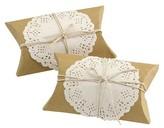 Hortense B. Hewitt Kraft & Lace Favor Box Kit - 12 count