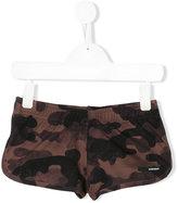 Rrd Kids - camo shorts - kids - Elastodiene/Polyester - 6 yrs