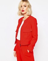 Asos Occasion Cropped Blazer Co-ord