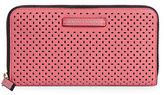 Armani Exchange Laser-Cut Faux-Leather Wallet