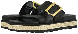 Sorel Roamingtm Buckle Slide Jute (Black) Women's Sandals