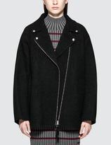 Alexander Wang Wool Coating Asymmetrical Collar Coat
