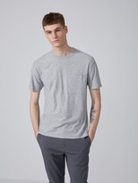 Frank + Oak Slub Cotton Pocket T-Shirt in Vintage Grey