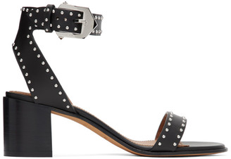 Givenchy Black Studded Elegant Sandals