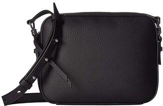 AllSaints Captain Leather SQ Crossbody (Brick) Handbags