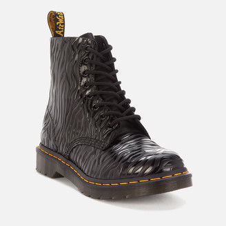 Dr. Martens Women's 1460 Embossed Leather Pascal Boots