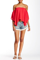 Free People Lacy Cutoff Short