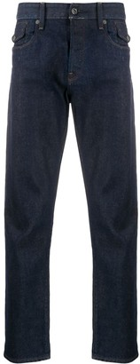 G Star Low Rise Straight-Leg Jeans