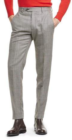 Todd Snyder Black Label Made in USA Wool Houndstooth Suit Trouser