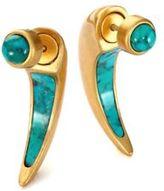 Pamela Love Sue?o Turquoise Ear Jacket & Stud Earrings Set