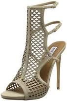 Steve Madden Women's Maylin Suede Open-toe heeled shoes beige Size: 5