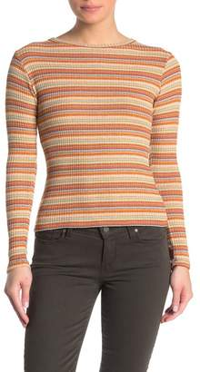 Elan International Striped Long Sleeve T-Shirt