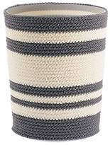 InterDesign Ellis Knitted Decorative Trash and Waste Can