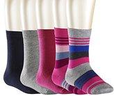 Falke Girl's Mixed Calf Socks,6-8.5 pack of 5