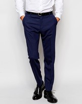 Selected Homme Travel Suit Trousers With Stretch In Slim Fit