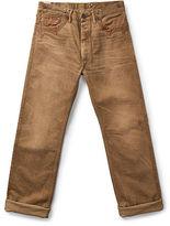 Ralph Lauren RRL Selvedge Buckled-Back Pant