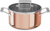 KitchenAid 3-Ply Copper Casserole Pan