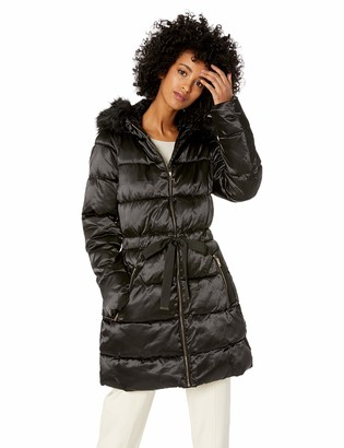 Jessica Simpson Women's Long Fashion Puffer Jacket