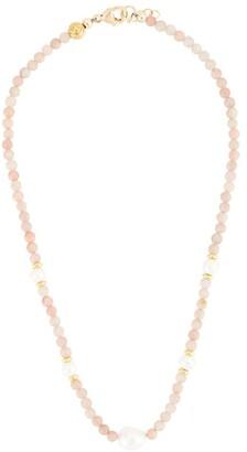 Nialaya Jewelry Stone Beaded Choker