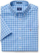 Gant Short-Sleeve Easy Care Gingham Shirt