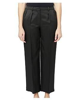 Theory Crop Twill Trouser