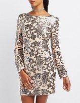 Sequin Open Back Dresses - ShopStyle