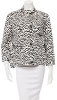 Veronica Beard Patterned Short Coat