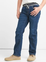 Gap Stretch pull-on straight jeans