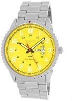 Roberto Bianci Men's 7099m_yel Pro Racing Analog Display Analog Quartz Silver Watch