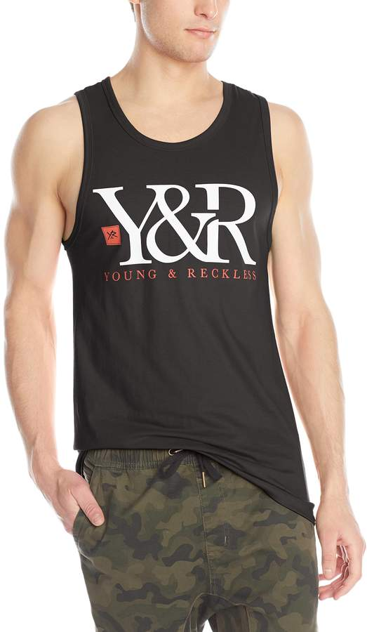 Young & Reckless Men's Core Logo Tank
