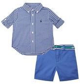 Polo Ralph Lauren Checked Shirt and Shorts Set