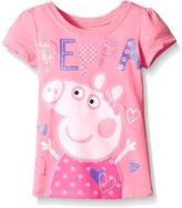 Peppa Pig Little Girls' Heart Tee