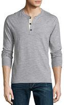 Rag & Bone Standard Issue Basic Long-Sleeve Henley Shirt