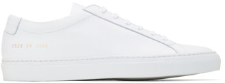 Common Projects White Original Achilles Low Sneakers