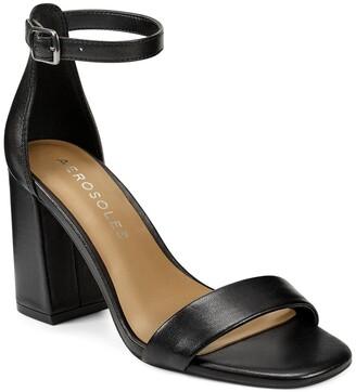 Aerosoles Long Beach Ankle Strap Block Heel Sandal