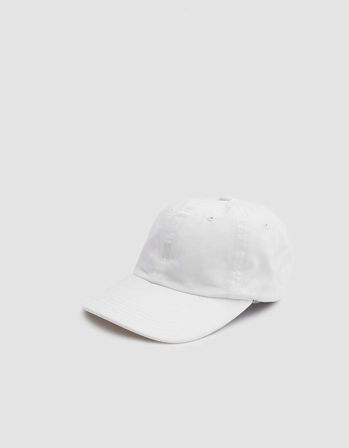 Norse Projects Light Twill Sports Cap in White