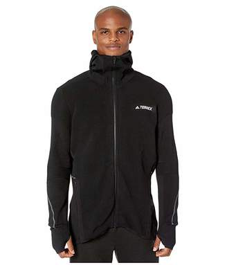 adidas Outdoor Outdoor Primeknit Midlayer (Black) Men's Coat