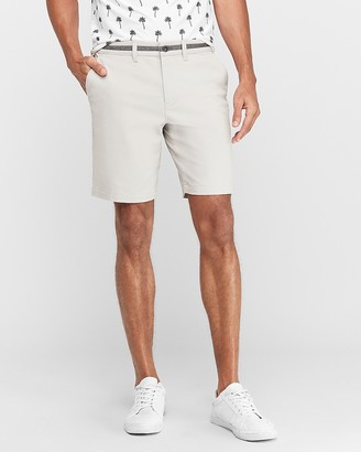 "Express 9"" 365 Comfort Hyper Stretch Shorts"