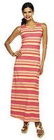 Liz Claiborne New York Petite Stripe Printed Maxi Dress