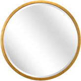 Chelsea House Round Wall Mirror, Gold