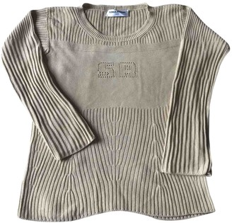 Sonia Rykiel Beige Cotton Knitwear for Women