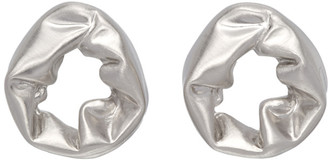 COMPLETEDWORKS Silver Scrunch Earrings