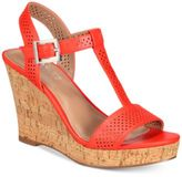 Charles by Charles David Law Strappy Platform Wedge Sandals
