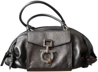 Salvatore Ferragamo Metallic Leather Handbags