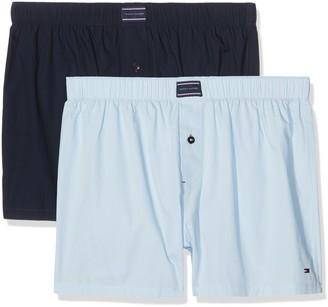 Tommy Hilfiger Men's 2P Woven Boxer Underwear