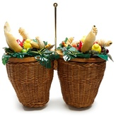 Charlotte Olympia Fruit wicker basket bag