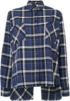Each X Other tartan shirt